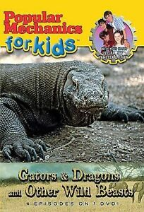 Popular-Mechanics-for-Kids-Gators-Dragons-and-Other-Wild-Beasts-DVD-2005-NEW
