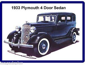 1933 plymouth 4 door sedan auto refrigerator tool box for 1933 plymouth 4 door