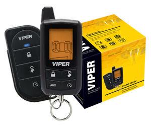 Viper-Car-Alarm-amp-Remote-Starter-2-Way-LCD-Remote-5305V-NEW-1-4-Mile-Range