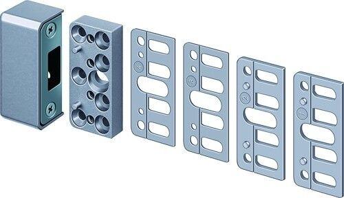 IKON schließkasten pour multiple Verrouillage perpendiculaire longerons 1077