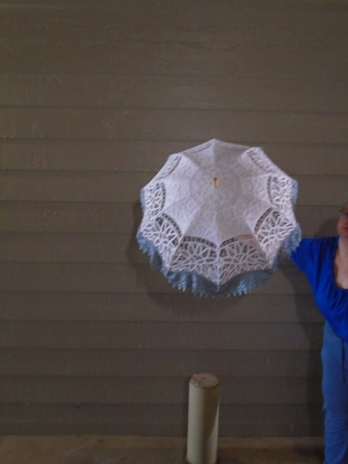 Handmade One of of of a Kind Battenberg Lace Parasols Adult Wedding or Casual 25% Off  d04c86
