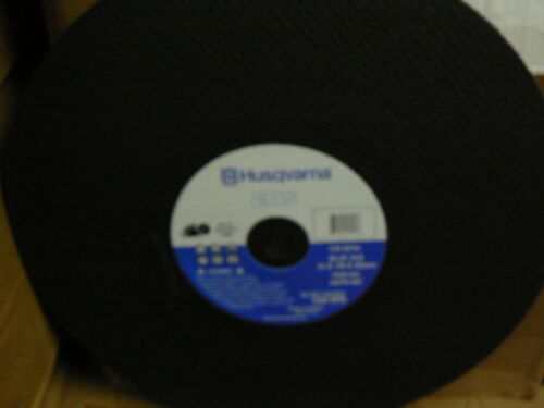 10 Husqvarna 542751497 Blue Ehs High Speed Abrasive Blades 14 x 1//8 x 20mm Metal