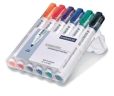 6 Whiteboard Stifte für Pinnwand - 351 WP6 staedtler #010003