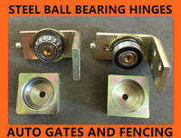 Punch In Ball Bearing Steel Hinges - Swing Gate Up To 350 Kgs -50x50 Post Shs