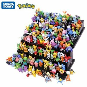 144Pcs Tomy Different Styles Pokemon Figures Model Collection 2-3cm Pokémon