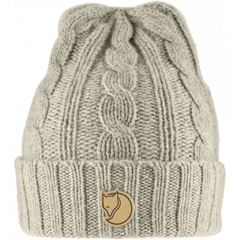 Fjällräven Fjällräven Fjällräven Braided Knit Hat Strickmütze - Chalk Weiß d19e66