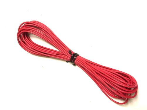 25ft Feet 18GA Gauge AWG Primary Wire Turn On Hook Up Remote Red OFC Copper Car