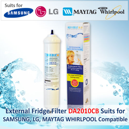 """3 Pack Premium 10/"""" Inline Fridge Filter replace Aqua Pro Inline Cartridge AIC-2"""