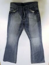 Divided by H&M Jeans Hose Schlaghose Hellblau Stonewashed W31 L34