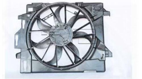 TYC 621860 Dual Rad/&Cond Fan Assy for Dodge Grand Caravan 2008-2016 Models