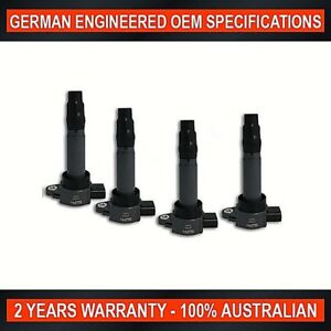 Set-of-4-Ignition-Coil-for-Mitsubishi-Colt-RG-RZ-1-5L-amp-Smart-ForFour-1-3L-1-5L