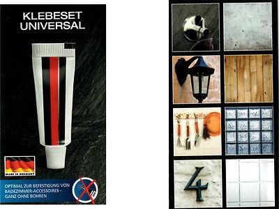 Universal Klebeset Ganz Ohne Bohren Kleber Badezimmer Accessoires 170kg Neu R1 Ebay