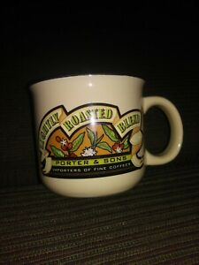 Mulberry-Porter-And-Sons-Lightly-Roasted-Blend-Importers-Coffee-Mug-Cup-12-Oz