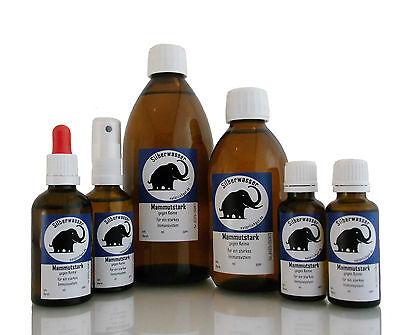 kolloidales Silber Silberwasser Bakterien Pilze Viren Katze Ohren Maul Haut