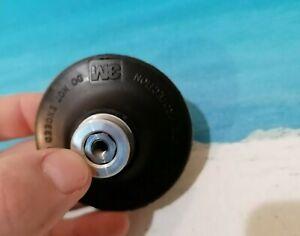 Plateau-pour-disques-abrasifs-76-2-mm-1-4-039-039-Roloc-3M-Durete-extra-dur