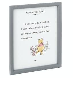 Hallmark-Disney-Winnie-the-Pooh-and-Piglet-Friendship-Framed-Art-Quote-Sign-New