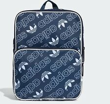 Adidas originals trefoil Backpack retro vintage Bag school gym men womens  BNWT 69bfb019ad681