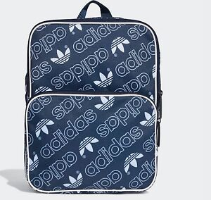 Retro Men Vintage Originals Backpack Bag Adidas Trefoil School Gym atSxqxg4w