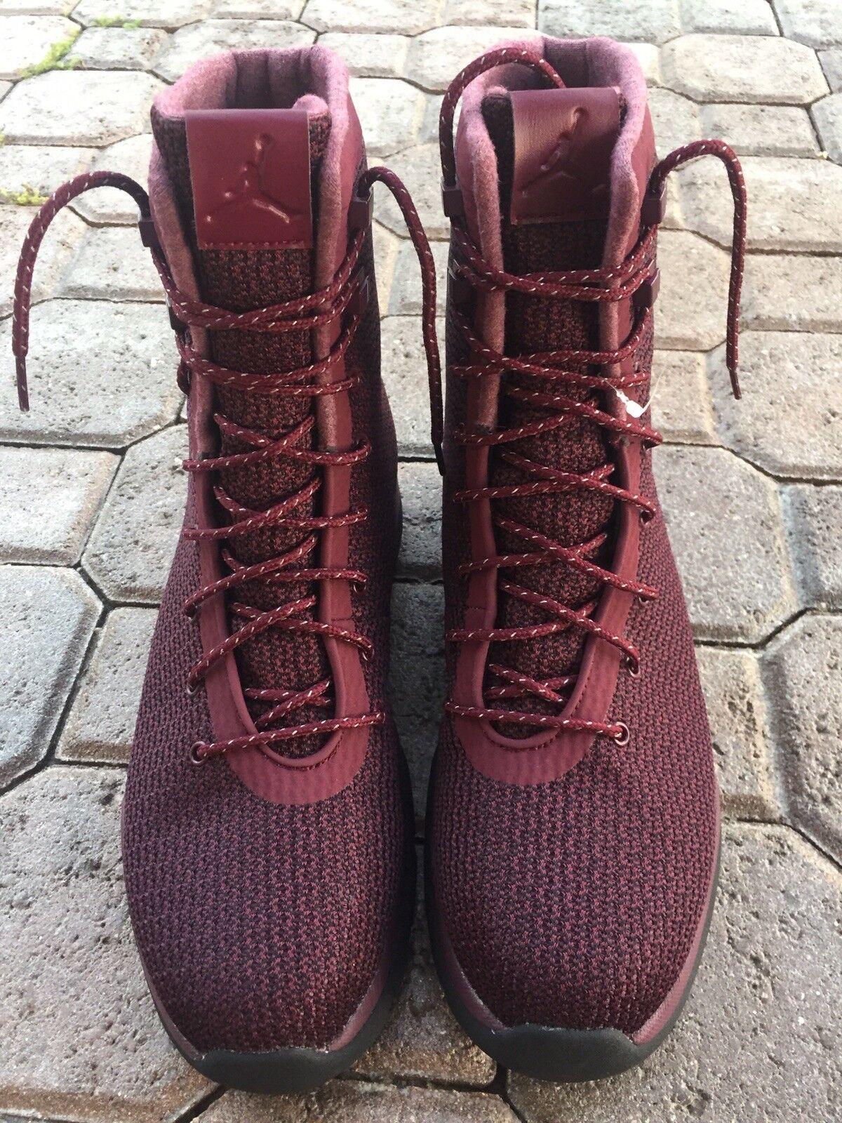 Nike air jordan zukunft stiefel größe 12 nacht maroon burgund rot - schwarz 854554-600