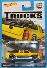 HOT WHEELS CAR CULTURE TRUCKS # 4/5 CHEVY SILVERADO