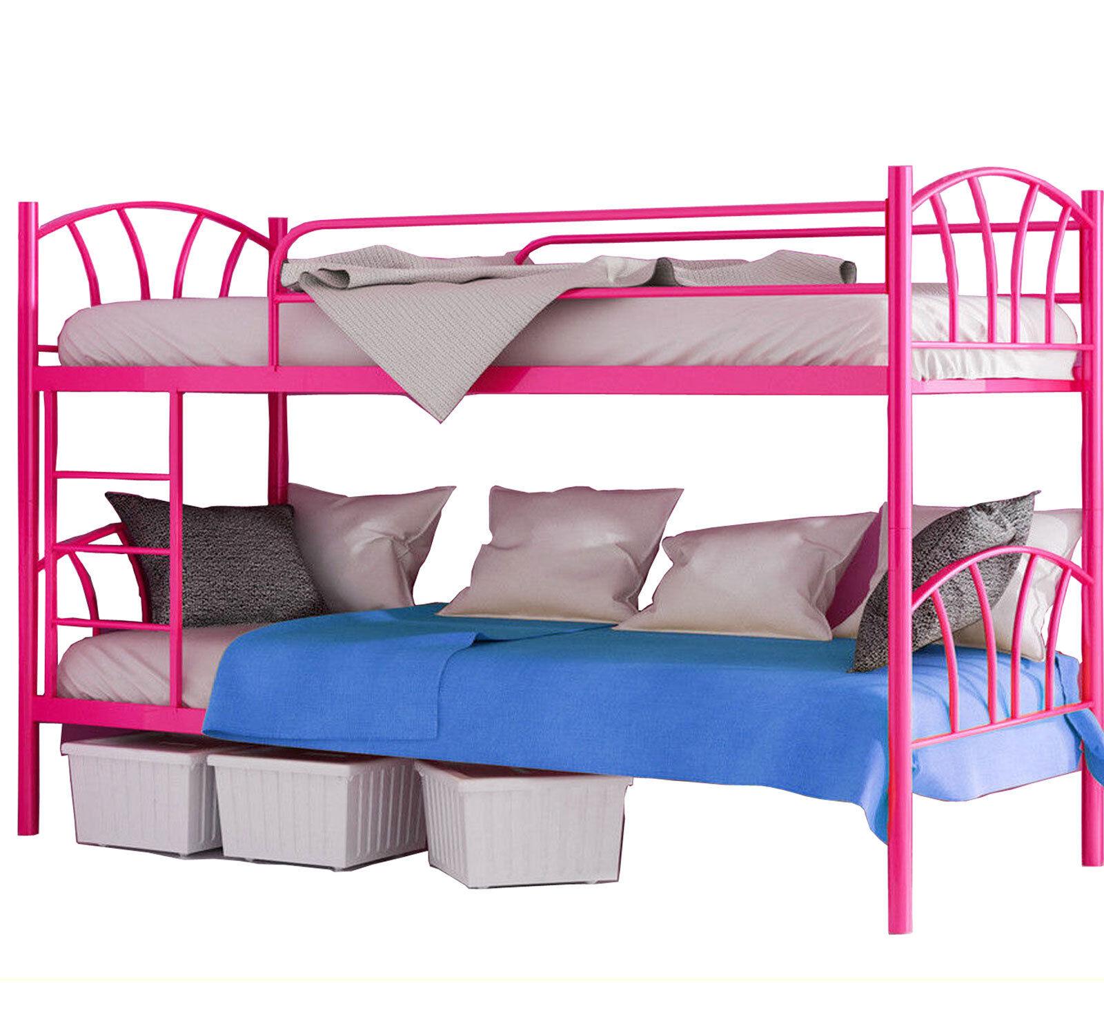 Etagenbett Hochbett Metall Stockbett 90x200 Kinderbett Belastbarkeit