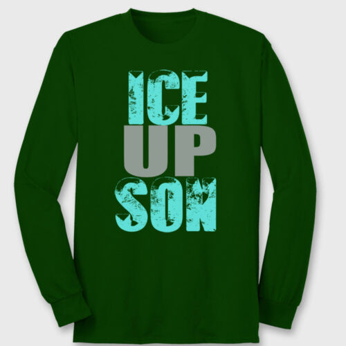 ICE UP SON Carolina Panthers Funny T-shirt Steve Smith Quote Long Sleeve Tee