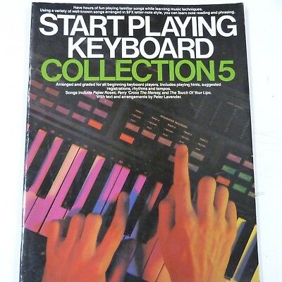 Start Playing Keyboard The SFX Tutor Book with Stickers