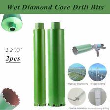 """2-1//5/"""" 3/"""" Diamond Concrete Wet Core Bore Drill Drilling Bit Premium Green Series"""