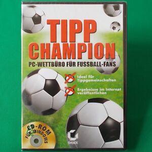 Pc Dvd Rom Tipp Champion Tippgemeinschaften Verwalten Neu