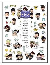 Super Junior superjunior sj tatoo sticker 2015 goods KPOP NEW