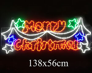 image is loading led neon steady on merry christmas sign motif