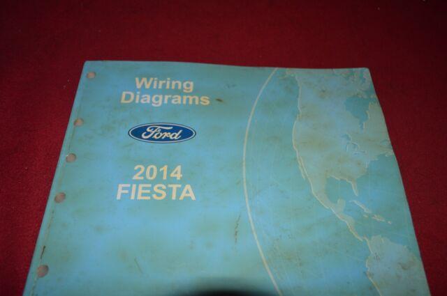 Ford Fiesta 2014 Dealer Wiring Diagram Manual Bapa