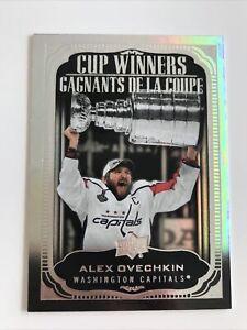 NHL Card,Alex Ovechkin,Cup Winners,Tim Hortons 2020-21