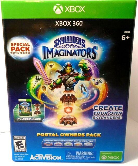 New in Sealed Box XBOX 360 Skylanders Imaginators: Portal Owners Pack