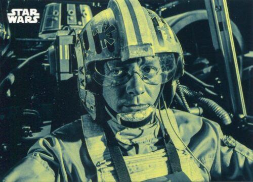 Star Wars ANH Black /& White Blue Base Card #129 Red Leader Garven Dreis