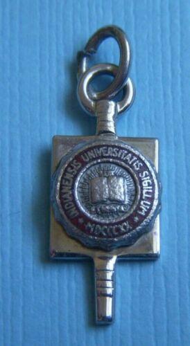 Vintage enamel Indiana University charm