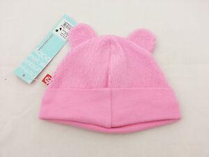 1f41b5a535d Zutano Pink Cozie Fleece Bear Hat 6 Month NWT R 16.99 754155398559 ...