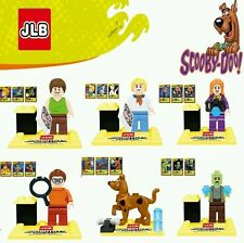 Scooby Doo 6pcs/lot Minifigures Characters Building Block Toy Kids Gifts