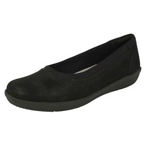 Low' On Casual Shoes D Slip Navy fitting Cloudsteppers 'ayla Clarks Ladies wqYUtt