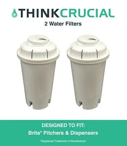2-Replacements-Pitchers-amp-Dispensers-Brita-Water-Filters