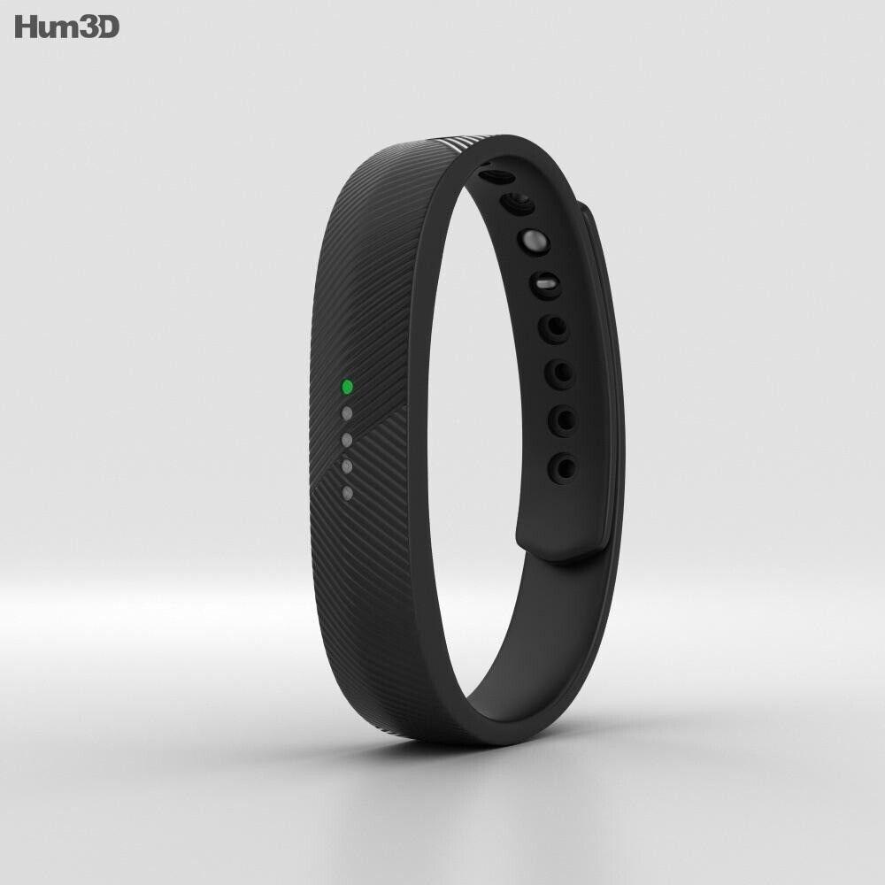 NWT Fitbit Flex 2 Black Wireless Fitness Activity Waterproof Tracker