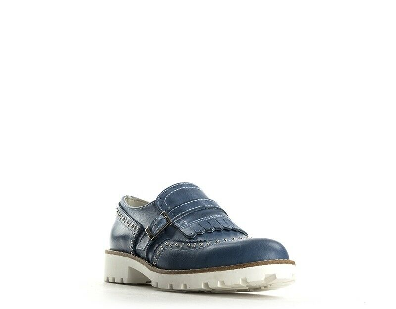 Zapatos Mujer BIANCOANTICO Mujer Zapatos JEANS Cuero natural DUS690.JE.01 d10058