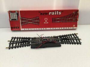 Jouef-4846-HO-Gauge-Double-Slip-Steel-Rails-247mm