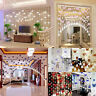 Luxury Crystal Glass Bead Curtain Living Room Bedroom Window Door Wedding Decor