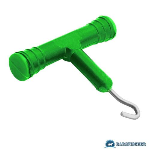 Carp zoom Knot//Hook testeur vorfach outil passants de Carpfishing ossature Checker