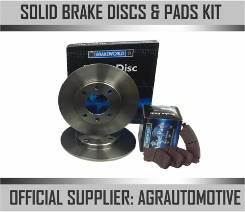 OEM SPEC REAR DISCS AND PADS 240mm FOR RENAULT MODUS 1.4 2004