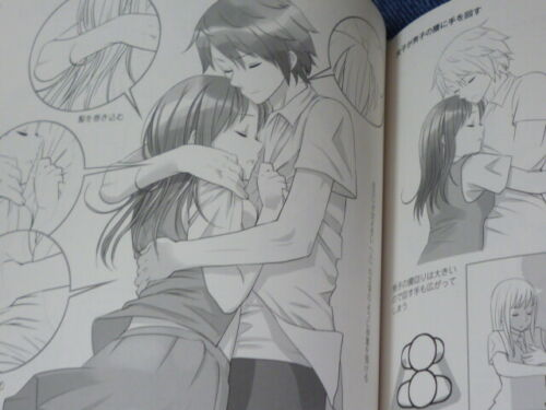 How to draw Moe two people Boy /& Girl Manga Anime Art Technique Book Japan