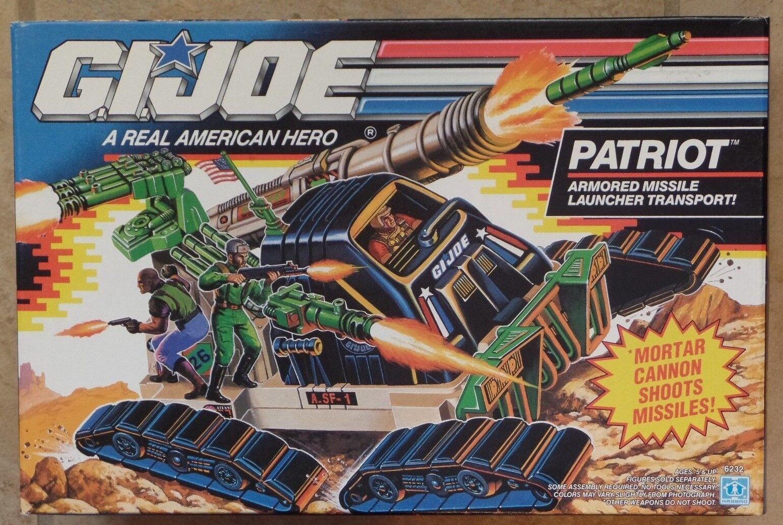 GI Joe Patriot Armored Missile Transport  HASBRO NEW MINT SEALED 1991 MISB