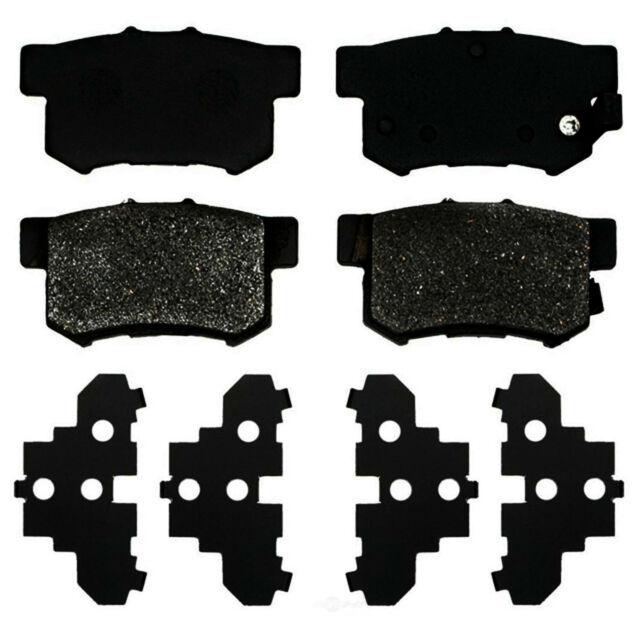 Disc Brake Pad Set-Organic Disc Brake Pad Rear 17D365 Fits