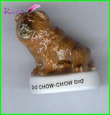"""Feve Les Races de Chien Dog Edition Atlas """" Le Chow Chow Chowchow """"  #A60"""